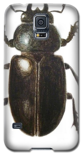 Stag Beetle Galaxy S5 Case by Ele Grafton