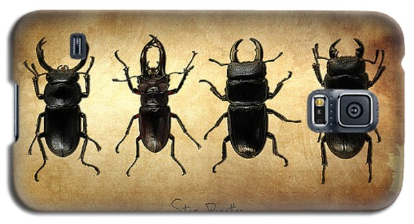 Stag Beetles Galaxy S5 Case by Mark Rogan