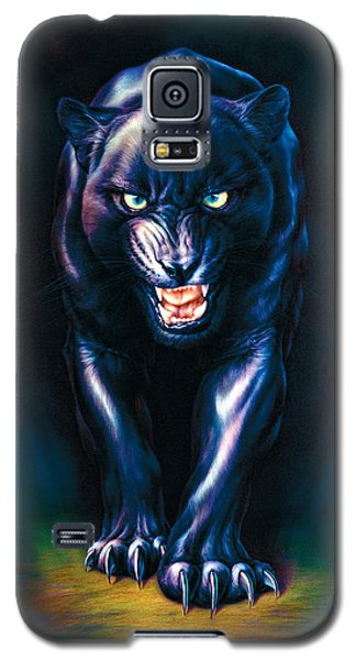 Stalking Panther Galaxy S5 Case by Andrew Farley