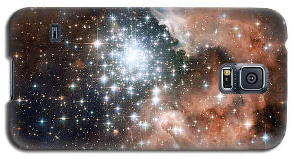 Star Cluster And Nebula Galaxy S5 Case by Sebastian Musial