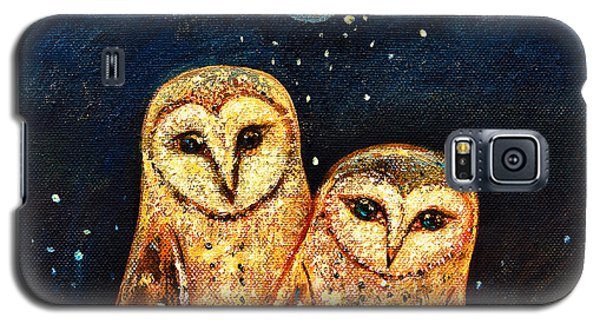 Starlight Owls Galaxy S5 Case by Shijun Munns