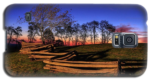 Stars At Sunrise On The Blue Ridge Galaxy S5 Case by Dan Carmichael