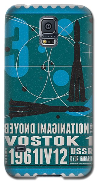 Science Fiction Galaxy S5 Cases - Starschips 03-poststamp - Vostok Galaxy S5 Case by Chungkong Art