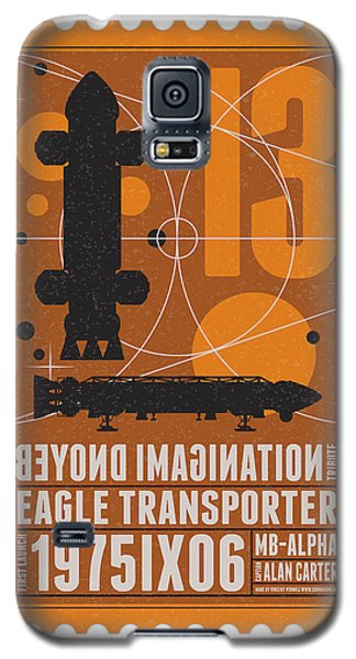 Science Fiction Galaxy S5 Cases - Starschips 13-poststamp - Space 1999 Galaxy S5 Case by Chungkong Art