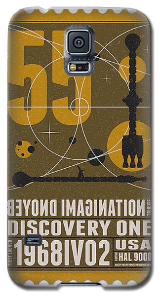 Starschips 55-poststamp -discovery One Galaxy S5 Case by Chungkong Art