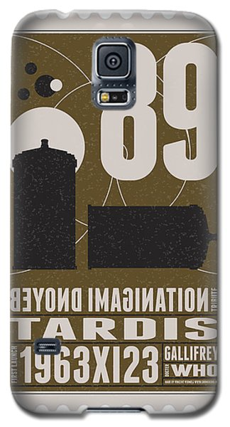 Science Fiction Galaxy S5 Cases - Starschips 89-BONUS-poststamp - DR WHO - TARDIS Galaxy S5 Case by Chungkong Art