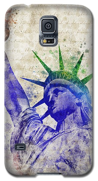 Statue Of Liberty Galaxy S5 Case by Aged Pixel