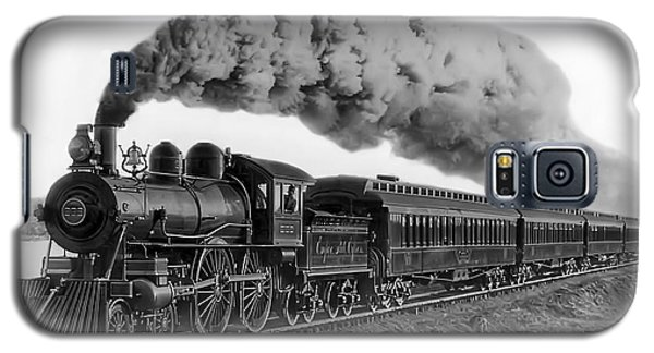 Steam Locomotive No. 999 - C. 1893 Galaxy S5 Case by Daniel Hagerman