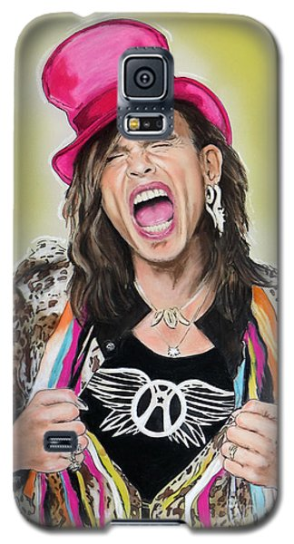 Steven Tyler 2 Galaxy S5 Case by Melanie D