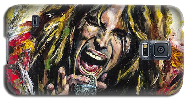 Steven Tyler Galaxy S5 Case by Mark Courage