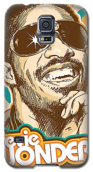 Stevie Wonder Pop Art Galaxy S5 Case by Jim Zahniser