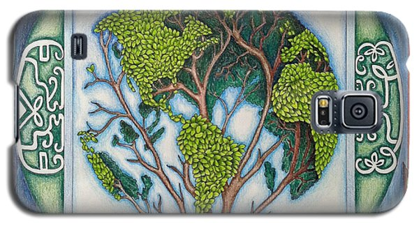 Stewardship Of The Earth Galaxy S5 Case by Arla Patch