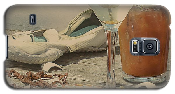 Still Life - Beach With Curves Galaxy S5 Case by Jeff Burgess