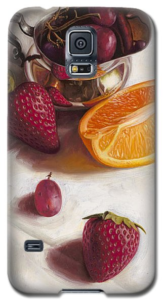 Still Life Reflections Galaxy S5 Case by Ron Crabb
