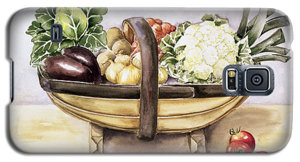 Still Life With A Trug Of Vegetables Galaxy S5 Case by Alison Cooper