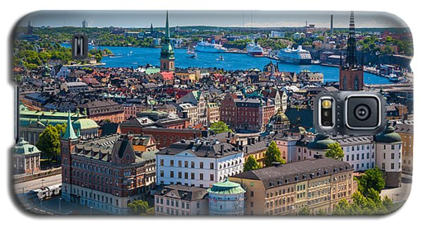 Buy Galaxy S5 Cases - Stockholm from Above Galaxy S5 Case by Inge Johnsson