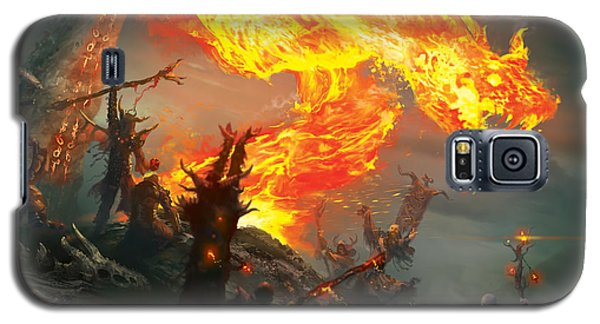 Stoke The Flames Galaxy S5 Case by Ryan Barger