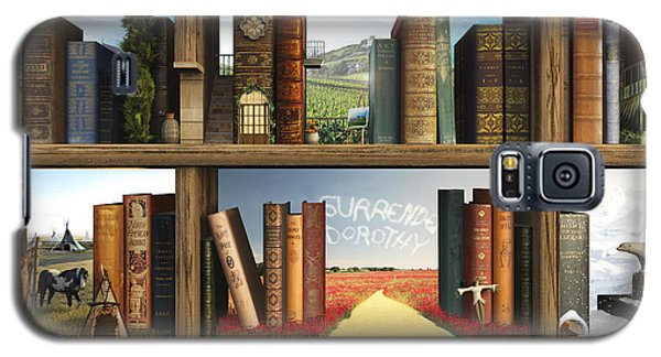 Landmarks Galaxy S5 Cases - StoryWorld Galaxy S5 Case by Cynthia Decker