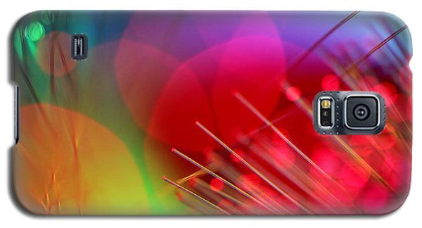 Abstract Galaxy S5 Cases - Strange Days Galaxy S5 Case by Dazzle Zazz