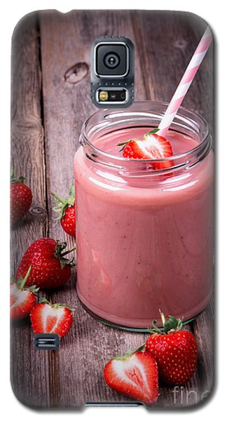 Summer Galaxy S5 Cases - Strawberry smoothie Galaxy S5 Case by Jane Rix