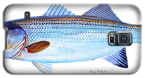 Striped Bass Galaxy S5 Case by Carey Chen