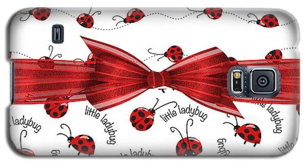 Stylish Ladybugs Galaxy S5 Case by Debra  Miller