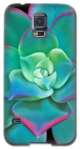 Succulent Aeonium Kiwi Galaxy S5 Case by Laura Bell