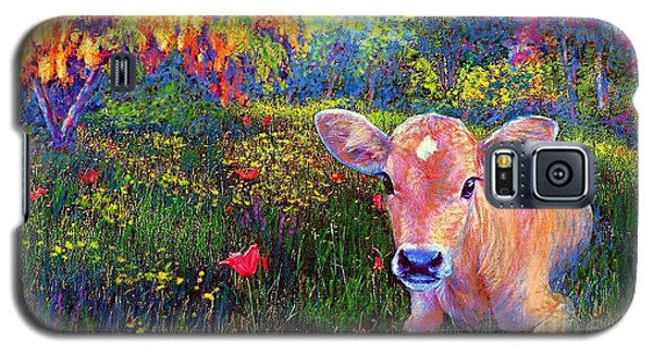 Such A Contented Cow Galaxy S5 Case by Jane Small