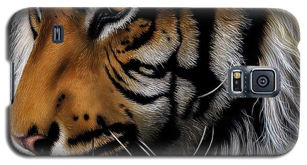 Sumatran Tiger Profile Galaxy S5 Case by Jurek Zamoyski