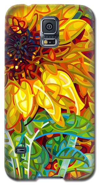Summer In The Garden Galaxy S5 Case by Mandy Budan