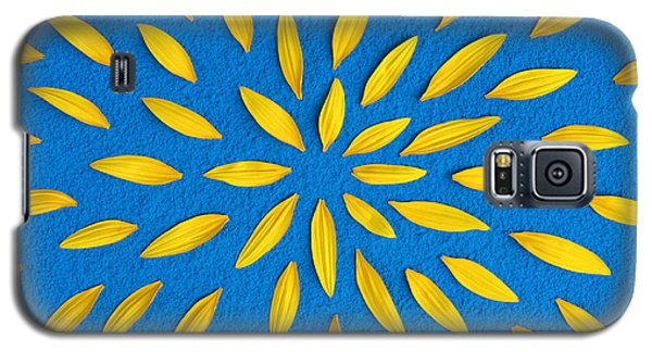 Sunflower Petals Pattern Galaxy S5 Case by Tim Gainey