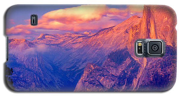 Sunlight Falling On A Mountain, Half Galaxy S5 Case by Panoramic Images