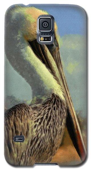 Sunrise Pelican Galaxy S5 Case by Ernie Echols