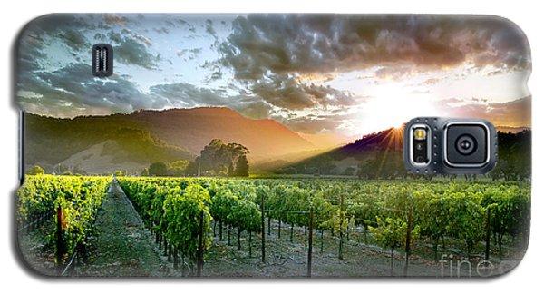Wine Country Galaxy S5 Case by Jon Neidert