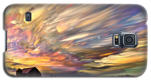 Landscapes Galaxy S5 Cases - Sunset Spectrum Galaxy S5 Case by Matt Molloy