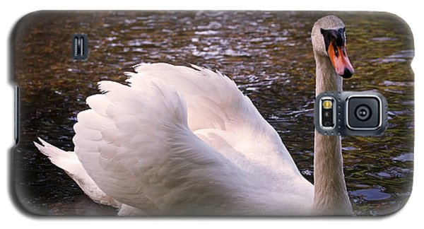 Swan Pose Galaxy S5 Case by Rona Black