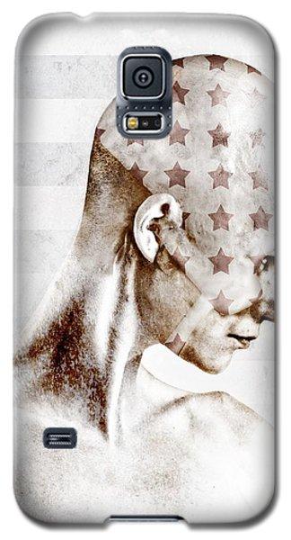 Science Fiction Galaxy S5 Cases - Swimmer Galaxy S5 Case by Johan Lilja