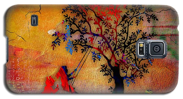Swinging On A Tree Galaxy S5 Case by Marvin Blaine