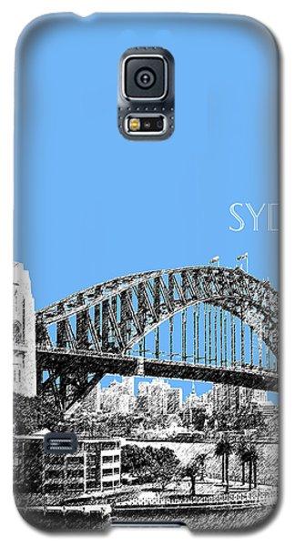 Sydney Skyline 2 Harbor Bridge - Light Blue Galaxy S5 Case by DB Artist