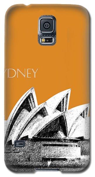 Sydney Skyline 3  Opera House - Dark Orange Galaxy S5 Case by DB Artist