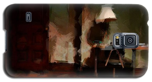 Table Lamp Chair Galaxy S5 Case by H James Hoff