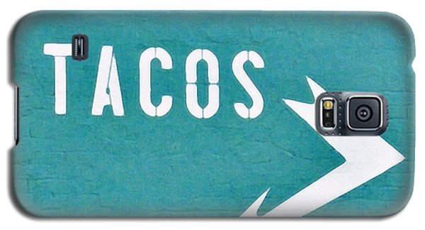 Tacos Galaxy S5 Case by Art Block Collections