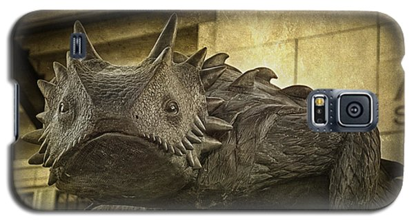 Tcu Horned Frog Galaxy S5 Case by Joan Carroll