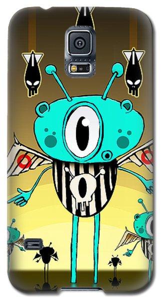 Team Alien Galaxy S5 Case by Johan Lilja