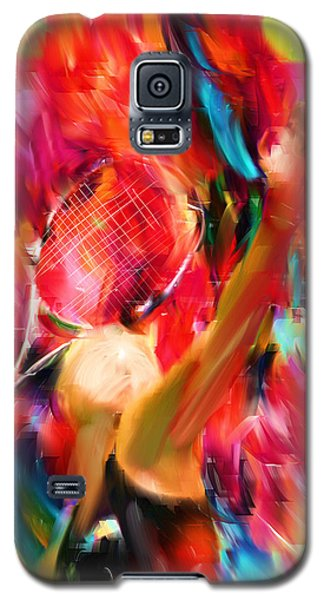 Tennis I Galaxy S5 Case by Lourry Legarde