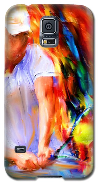 Tennis II Galaxy S5 Case by Lourry Legarde