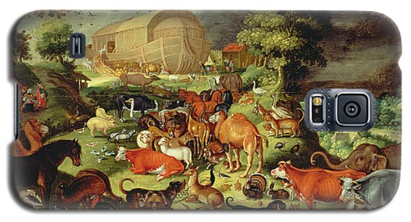 The Animals Entering The Ark Galaxy S5 Case by Jacob II Savery