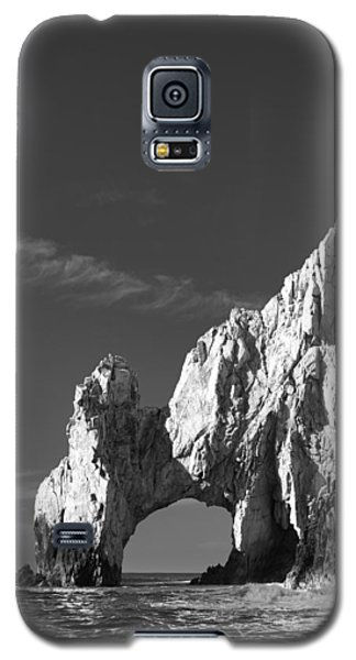 Seascape Galaxy S5 Cases - The Arch in Black and White Galaxy S5 Case by Sebastian Musial
