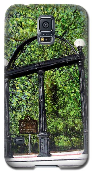 The Arch - University Of Georgia- Painting Galaxy S5 Case by Katie Phillips
