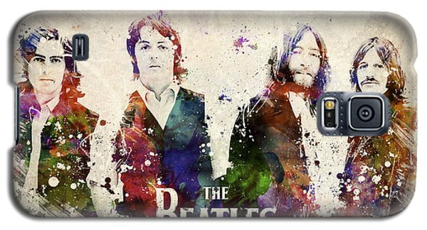 Music Galaxy S5 Cases - The Beatles Galaxy S5 Case by Aged Pixel
